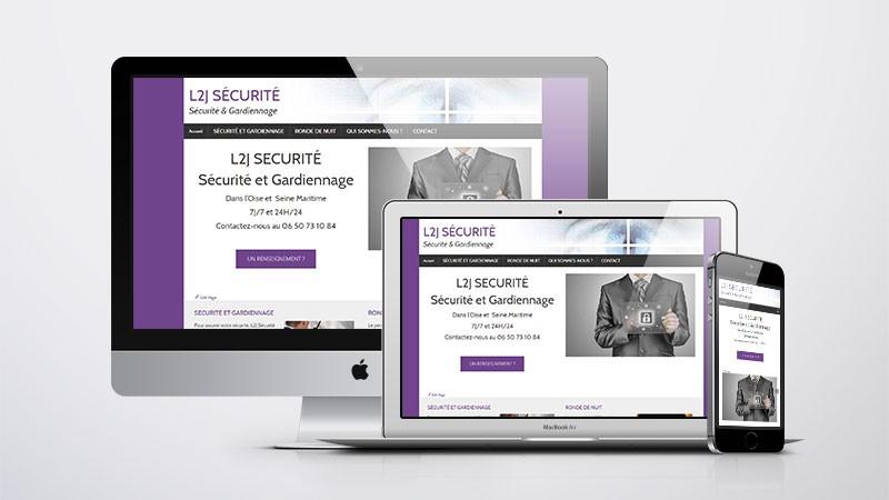 L2J Sécurité - responsive design
