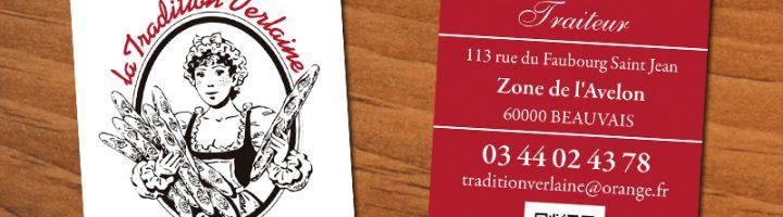 Carte De Visite Boulangerie Tradition Verlaine